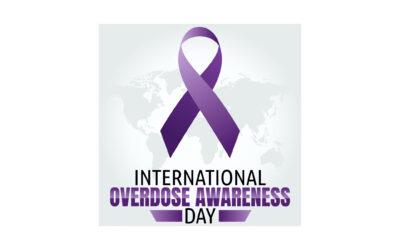 International Overdose Awareness Day – August 31, 2021